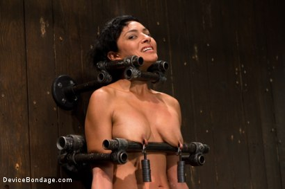 Photo number 11 from Tight bodied brunette rides the sybian shot for Device Bondage on Kink.com. Featuring Beretta James in hardcore BDSM & Fetish porn.