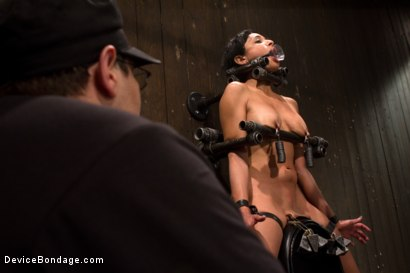 Photo number 14 from Tight bodied brunette rides the sybian shot for Device Bondage on Kink.com. Featuring Beretta James in hardcore BDSM & Fetish porn.