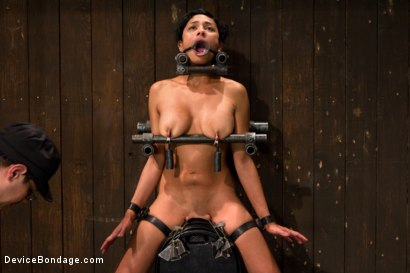 Photo number 10 from Tight bodied brunette rides the sybian shot for Device Bondage on Kink.com. Featuring Beretta James in hardcore BDSM & Fetish porn.