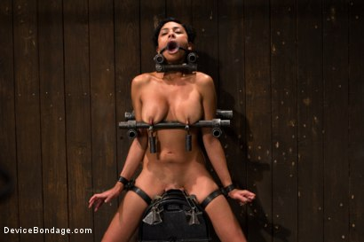 Photo number 7 from Tight bodied brunette rides the sybian shot for Device Bondage on Kink.com. Featuring Beretta James in hardcore BDSM & Fetish porn.