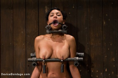 Photo number 8 from Tight bodied brunette rides the sybian shot for Device Bondage on Kink.com. Featuring Beretta James in hardcore BDSM & Fetish porn.