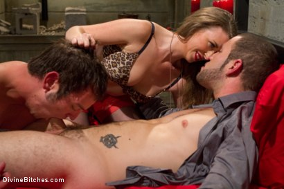 Photo number 10 from Mistress T cuckolds and blackmails her gambling addicted husband! shot for Divine Bitches on Kink.com. Featuring Wolf Hudson, Mike J and Mistress T in hardcore BDSM & Fetish porn.