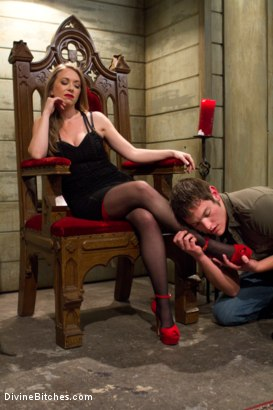 Photo number 13 from Mistress T cuckolds and blackmails her gambling addicted husband! shot for Divine Bitches on Kink.com. Featuring Wolf Hudson, Mike J and Mistress T in hardcore BDSM & Fetish porn.