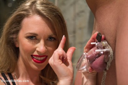 Photo number 4 from Mistress T cuckolds and blackmails her gambling addicted husband! shot for Divine Bitches on Kink.com. Featuring Wolf Hudson, Mike J and Mistress T in hardcore BDSM & Fetish porn.