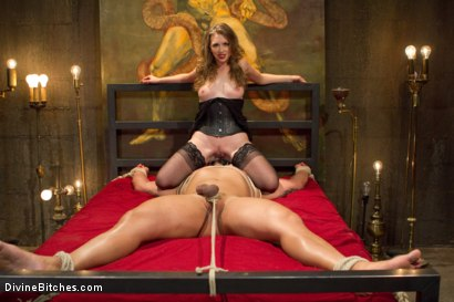 Photo number 9 from Mistress T Is What You Crave! shot for Divine Bitches on Kink.com. Featuring Mistress T and Dutch Bardoux in hardcore BDSM & Fetish porn.