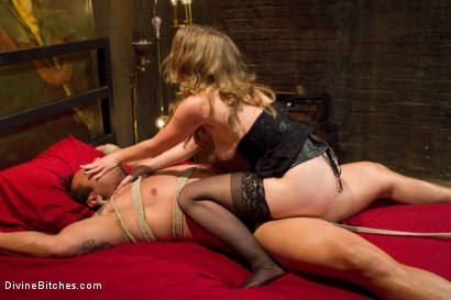 Photo number 5 from Mistress T Is What You Crave! shot for Divine Bitches on Kink.com. Featuring Mistress T and Dutch Bardoux in hardcore BDSM & Fetish porn.