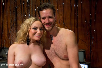 Photo number 8 from Your Cock Is Denied shot for Divine Bitches on Kink.com. Featuring Aiden Starr and Scratch in hardcore BDSM & Fetish porn.