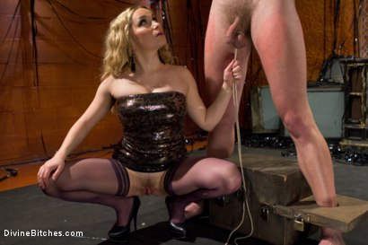 Photo number 12 from Your Cock Is Denied shot for Divine Bitches on Kink.com. Featuring Aiden Starr and Scratch in hardcore BDSM & Fetish porn.