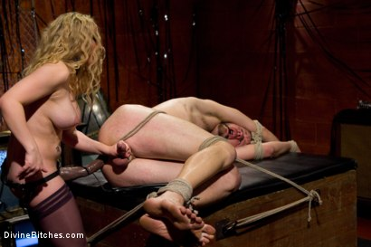 Photo number 2 from Your Cock Is Denied shot for Divine Bitches on Kink.com. Featuring Aiden Starr and Scratch in hardcore BDSM & Fetish porn.