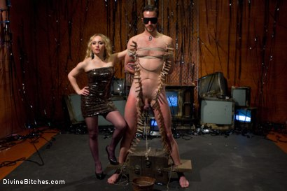 Photo number 9 from Your Cock Is Denied shot for Divine Bitches on Kink.com. Featuring Aiden Starr and Scratch in hardcore BDSM & Fetish porn.