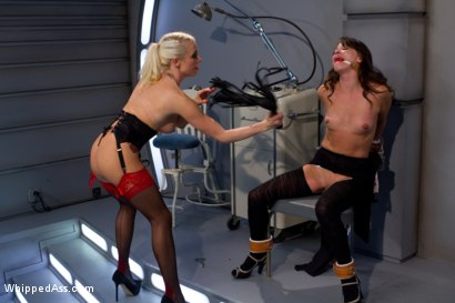 Photo number 3 from Whipped and Gaped: A Medical Fetish Fantasy shot for Whipped Ass on Kink.com. Featuring Alysa and Lorelei Lee in hardcore BDSM & Fetish porn.