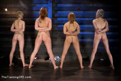 Photo number 10 from <b>Four Girl Intake<br>Sado-Masochists Slave Testing  shot for The Training Of O on Kink.com. Featuring Jessie Cox, Goddess Annika Amour, CiCi Rhodes, Alani Pi and Maestro Stefanos in hardcore BDSM & Fetish porn.