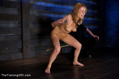 Photo number 1 from Jessie Cox Day 1<br>Sexual Slave Training shot for The Training Of O on Kink.com. Featuring Jessie Cox and Derrick Pierce in hardcore BDSM & Fetish porn.