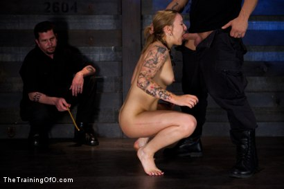 Photo number 2 from Jessie Cox Day 1<br>Sexual Slave Training shot for The Training Of O on Kink.com. Featuring Jessie Cox and Derrick Pierce in hardcore BDSM & Fetish porn.