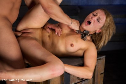 Photo number 12 from Jessie Cox Day 1<br>Sexual Slave Training shot for The Training Of O on Kink.com. Featuring Jessie Cox and Derrick Pierce in hardcore BDSM & Fetish porn.