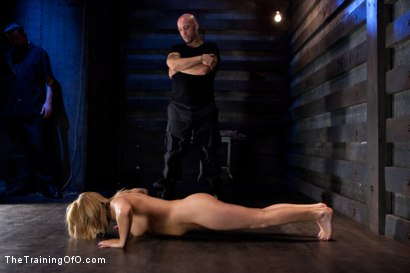 Photo number 4 from Jessie Cox Day 1<br>Sexual Slave Training shot for The Training Of O on Kink.com. Featuring Jessie Cox and Derrick Pierce in hardcore BDSM & Fetish porn.