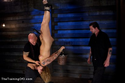 Photo number 9 from Jessie Cox Day 1<br>Sexual Slave Training shot for The Training Of O on Kink.com. Featuring Jessie Cox and Derrick Pierce in hardcore BDSM & Fetish porn.