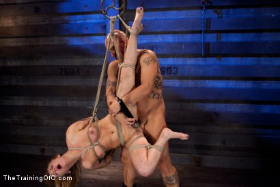 Photo number 11 from Slave Training Jessie Cox   Full Anal Annihilation for the First Time shot for The Training Of O on Kink.com. Featuring Jessie Cox and Derrick Pierce in hardcore BDSM & Fetish porn.