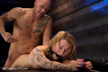 Photo number 5 from Slave Training Jessie Cox   Full Anal Annihilation for the First Time shot for The Training Of O on Kink.com. Featuring Jessie Cox and Derrick Pierce in hardcore BDSM & Fetish porn.