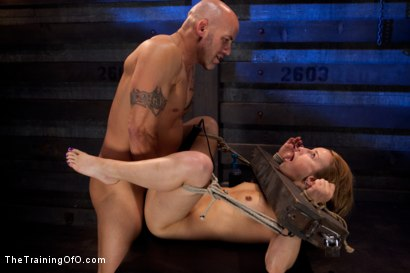 Photo number 7 from Slave Training Jessie Cox<br>Full Anal Annihilation for the First Time shot for The Training Of O on Kink.com. Featuring Jessie Cox and Derrick Pierce in hardcore BDSM & Fetish porn.