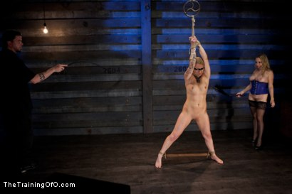 Photo number 13 from Slave Training Jessie Cox, Day 4<br>Submitting to a Goddess shot for The Training Of O on Kink.com. Featuring Jessie Cox and Aiden Starr in hardcore BDSM & Fetish porn.