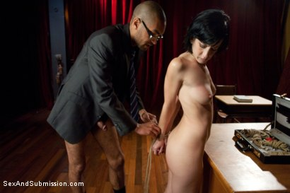 Photo number 5 from The Brothel shot for Sex And Submission on Kink.com. Featuring Mickey Mod, Mark Davis, Elise Graves and Rain DeGrey in hardcore BDSM & Fetish porn.