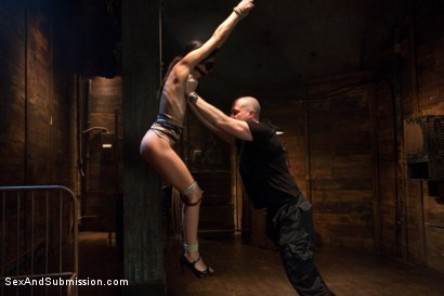 Photo number 4 from Bondage Slut: Lyla Storm shot for Sex And Submission on Kink.com. Featuring Mark Davis and Lyla Storm in hardcore BDSM & Fetish porn.