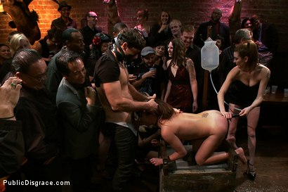 Photo number 3 from Holy Gaping Butthole Batman!!! EPIC ANAL Starring Russian Anal Queen Alysa!!!!! shot for Public Disgrace on Kink.com. Featuring Alysa, Princess Donna Dolore and Ramon Nomar in hardcore BDSM & Fetish porn.