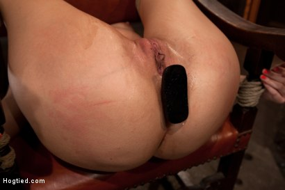 Photo number 7 from Girl next door takes brutal foot caning, devastating orgasms, a horrific throat fucking & anal abuse shot for Hogtied on Kink.com. Featuring Ashli  Orion in hardcore BDSM & Fetish porn.
