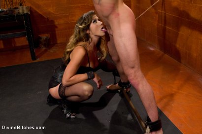 Photo number 15 from Leather Clad Fem Dom: Episode 1 shot for Divine Bitches on Kink.com. Featuring Felony and Trent Diesel in hardcore BDSM & Fetish porn.