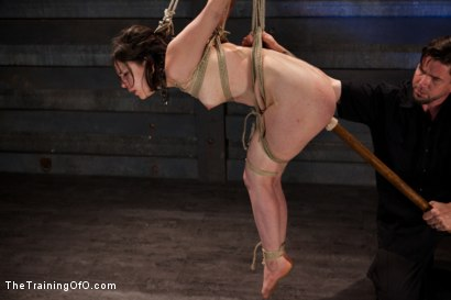 Photo number 11 from Final Training Day Juliette March<br>The Ultimate Test shot for The Training Of O on Kink.com. Featuring Juliette March in hardcore BDSM & Fetish porn.