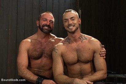 Photo number 15 from Super hunk Jessie Colter meets Josh West shot for Bound Gods on Kink.com. Featuring Jessie Colter and Josh West in hardcore BDSM & Fetish porn.
