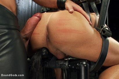 Photo number 7 from Super hunk Jessie Colter meets Josh West shot for Bound Gods on Kink.com. Featuring Jessie Colter and Josh West in hardcore BDSM & Fetish porn.