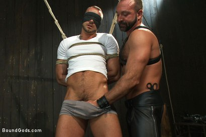 Photo number 1 from Super hunk Jessie Colter meets Josh West shot for Bound Gods on Kink.com. Featuring Jessie Colter and Josh West in hardcore BDSM & Fetish porn.