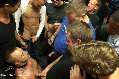 Photo number 8 from Jessie Colter gets gang banged at Mr S Leather store shot for Bound in Public on Kink.com. Featuring Jessie Colter and Christian Wilde in hardcore BDSM & Fetish porn.