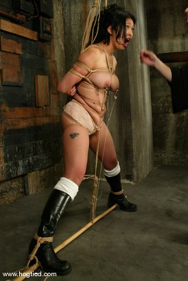 Photo number 3 from Lochai, Blaze and Mika Tan shot for Hogtied on Kink.com. Featuring Mika Tan, Lochai and Blaze in hardcore BDSM & Fetish porn.