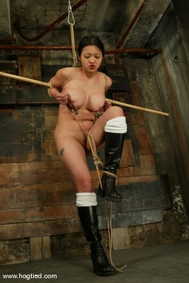 Photo number 6 from Lochai, Blaze and Mika Tan shot for Hogtied on Kink.com. Featuring Mika Tan, Lochai and Blaze in hardcore BDSM & Fetish porn.