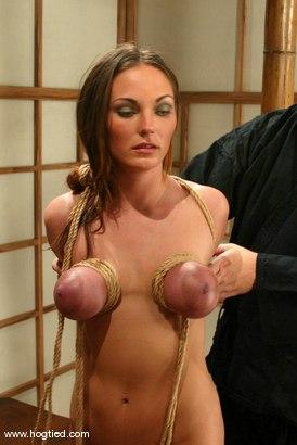 Photo number 4 from Venus shot for hogtied on Kink.com. Featuring Venus in hardcore BDSM & Fetish porn.