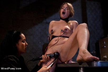 Photo number 2 from Ashlynn Leigh, caught smoking while working & is sent to Isis Love in order to keep her job! shot for Wired Pussy on Kink.com. Featuring Isis Love and Ashlynn Leigh in hardcore BDSM & Fetish porn.