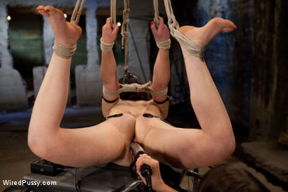 Photo number 8 from Doll-faced, Porcelain skinned Juliette March submits to Bobbi Starr despite her fear of Electricity shot for Wired Pussy on Kink.com. Featuring Bobbi Starr and Juliette March in hardcore BDSM & Fetish porn.
