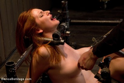 Photo number 8 from Redhead next door suffers for her orgasms shot for Device Bondage on Kink.com. Featuring Phoenix Askani in hardcore BDSM & Fetish porn.