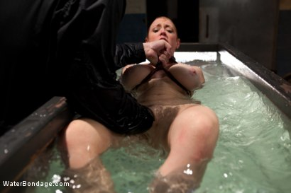 Photo number 13 from Water, Bondage, Screams, Orgasms and Big Wet Titties shot for Water Bondage on Kink.com. Featuring Dee Williams in hardcore BDSM & Fetish porn.
