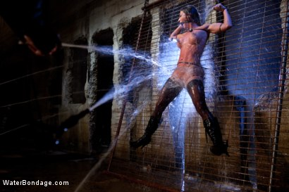 Photo number 1 from Bound, Soaked, Fucked and Dunked shot for Water Bondage on Kink.com. Featuring Ariel X in hardcore BDSM & Fetish porn.