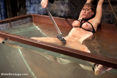 Photo number 13 from Bound, Soaked, Fucked and Dunked shot for Water Bondage on Kink.com. Featuring Ariel X in hardcore BDSM & Fetish porn.
