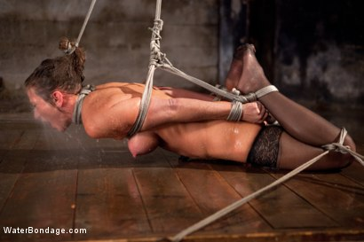 Photo number 5 from Bound, Soaked, Fucked and Dunked shot for Water Bondage on Kink.com. Featuring Ariel X in hardcore BDSM & Fetish porn.