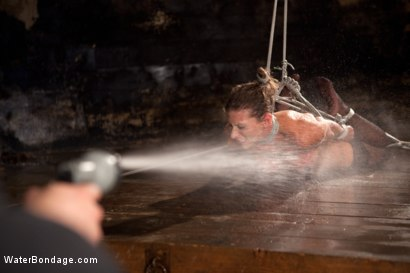 Photo number 8 from Bound, Soaked, Fucked and Dunked shot for Water Bondage on Kink.com. Featuring Ariel X in hardcore BDSM & Fetish porn.