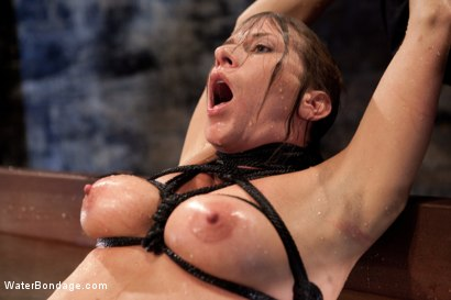Photo number 12 from Bound, Soaked, Fucked and Dunked shot for Water Bondage on Kink.com. Featuring Ariel X in hardcore BDSM & Fetish porn.