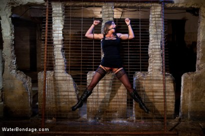 Photo number 3 from Bound, Soaked, Fucked and Dunked shot for Water Bondage on Kink.com. Featuring Ariel X in hardcore BDSM & Fetish porn.
