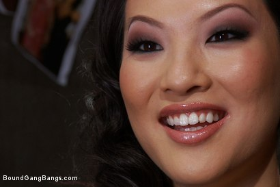 Photo number 1 from America's Sweetheart: Blackmailed and Defiled!!! Starring Asa Akira shot for Bound Gang Bangs on Kink.com. Featuring Asa Akira, Ramon Nomar, Mr. Pete, James Deen, Jon Jon and Rico Strong in hardcore BDSM & Fetish porn.