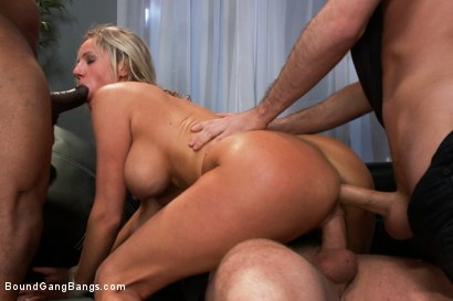 Photo number 13 from Kinky Couple shot for Bound Gang Bangs on Kink.com. Featuring James Deen, Mark Davis, Mr. Marcus, Jon Jon, Zoe Holiday and Dietrich Cyrus in hardcore BDSM & Fetish porn.